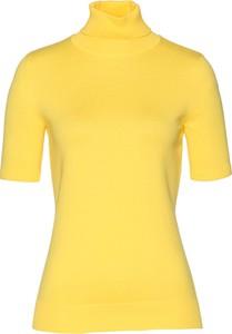 Żółty sweter bonprix bpc selection