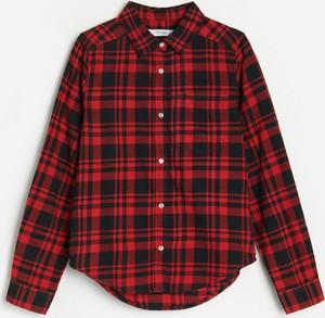 Czerwona koszula dziecięca Reserved