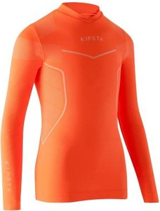 Pomarańczowa koszulka dziecięca Kipsta