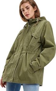 Zielona kurtka Tommy Jeans w stylu casual