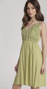 Sukienka Renee z dekoltem w kształcie litery v bez rękawów maxi