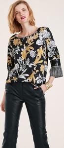 Bluzka Heine z okrągłym dekoltem w stylu boho