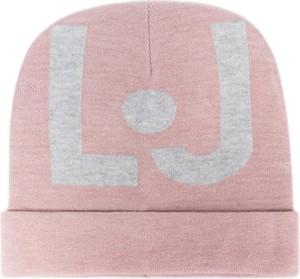 Różowa czapka Liu-Jo