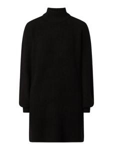 Czarna sukienka Noisy May w stylu casual z golfem mini