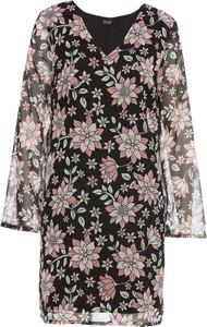 Sukienka bonprix bodyflirt w stylu boho midi z tkaniny