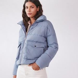 Niebieska kurtka Sinsay