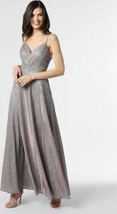 Sukienka Laona na ramiączkach maxi z dekoltem w kształcie litery v