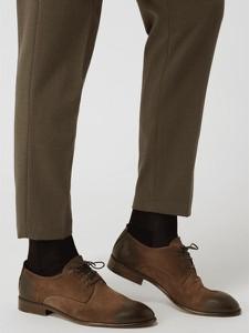 Brązowe buty Cinque sznurowane