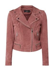 Różowa kurtka Vero Moda w stylu casual