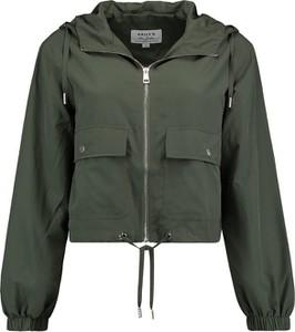 Zielona kurtka Emp w stylu casual krótka
