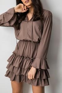 Sukienka Fashion Manufacturer z dekoltem w kształcie litery v w stylu casual mini