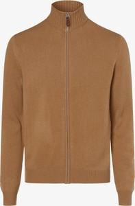 Sweter Andrew James w stylu casual z kaszmiru