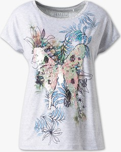 T-shirt CANDA w stylu glamour