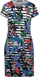 Sukienka Betty Barclay mini z krótkim rękawem z dekoltem w kształcie litery v
