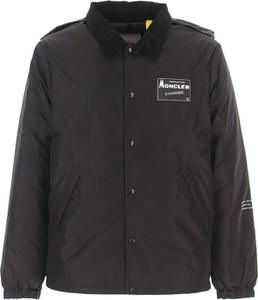 Czarna kurtka Moncler z bawełny