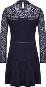 Granatowa sukienka Guess mini