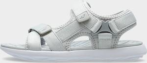 Sandały 4F w sportowym stylu z płaską podeszwą na rzepy