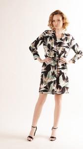Sukienka Ptakmoda.com z długim rękawem mini szmizjerka