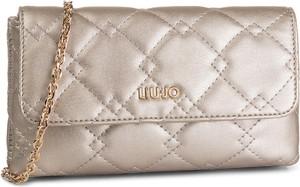 Złota torebka Liu-Jo do ręki mała