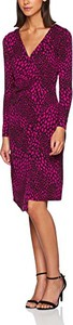 Czerwona sukienka Lola Casademunt z długim rękawem w stylu casual midi