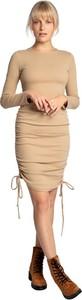 Sukienka Lalupa z długim rękawem