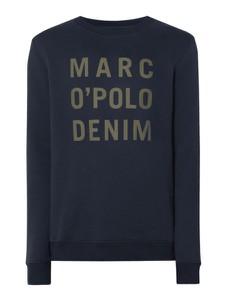 Granatowa bluza Marc O'Polo DENIM z bawełny w młodzieżowym stylu