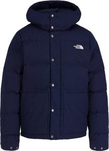 Granatowa kurtka The North Face w stylu casual