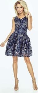 Sukienka Imesia z dekoltem w kształcie litery v