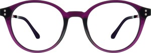 Fioletowe okulary damskie Belutti