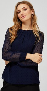 Granatowa koszula Moodo