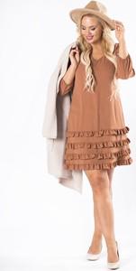 Sukienka Trynite z długim rękawem