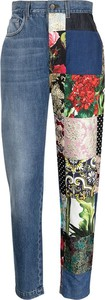 Jeansy Dolce & Gabbana z bawełny