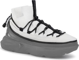 Buty sportowe Acbc z płaską podeszwą ze skóry w sportowym stylu