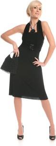 Czarna sukienka Fokus