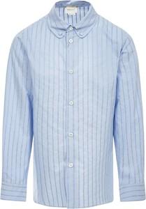 Koszula dziecięca Gucci w paseczki z bawełny