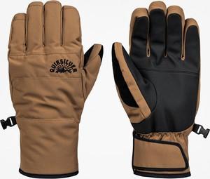 Brązowe rękawiczki Quiksilver