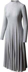 Sukienka RISK made in warsaw z długim rękawem z dresówki