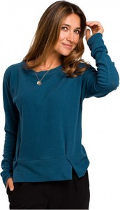 Niebieski sweter Style z bawełny