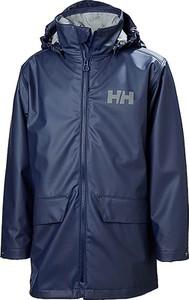 Niebieski płaszcz dziecięcy Helly Hansen