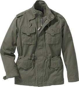 Zielona kurtka bonprix bpc bonprix collection w stylu casual