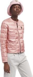 Różowa kurtka Blauer Usa w stylu casual