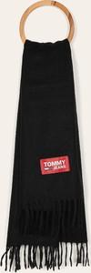 Czarny szal męski Tommy Jeans