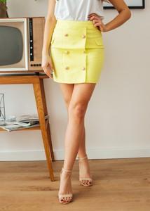 848b1be9 Żółte spódnice, kolekcja lato 2019