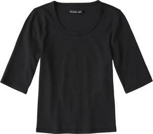 Bluzka Abercrombie & Fitch z bawełny z długim rękawem