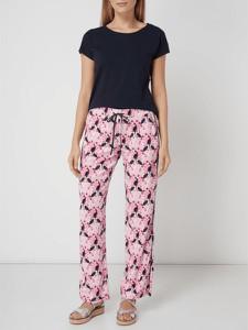 Różowe spodnie Lieblingsstück w stylu casual
