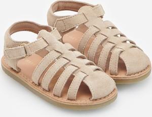 Buty dziecięce letnie Reserved z zamszu