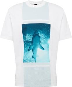 T-shirt Boss z krótkim rękawem z dżerseju