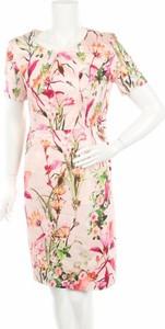 Sukienka Gerry Weber mini w stylu casual z okrągłym dekoltem