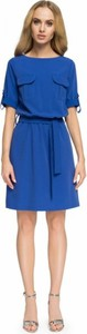 Sukienka Style mini z krótkim rękawem