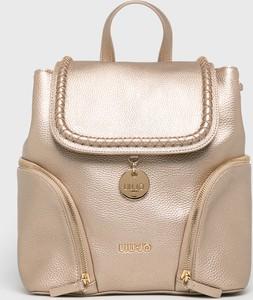 Złoty plecak Liu-Jo
